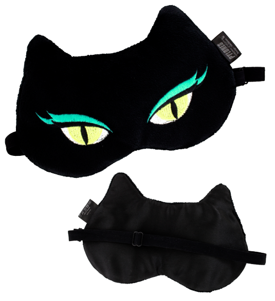 masque de nuit cache yeux pour avion voyage cat my eyes pylones. Black Bedroom Furniture Sets. Home Design Ideas