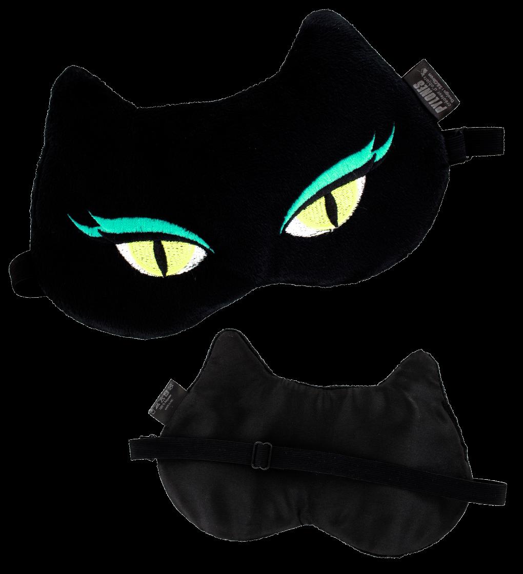 masque de nuit cache yeux pour avion voyage cat my. Black Bedroom Furniture Sets. Home Design Ideas